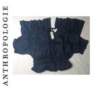 Anthropologie Pants - Anthropologie M Maeve Animal Jacquard Jumpsuit E